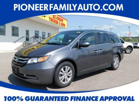 2015 Honda Odyssey for sale at Pioneer Family Preowned Autos in Williamstown WV