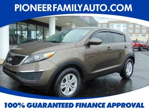2011 Kia Sportage for sale at Pioneer Family Preowned Autos in Williamstown WV