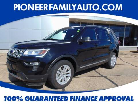 2019 Ford Explorer for sale at Pioneer Family Preowned Autos in Williamstown WV