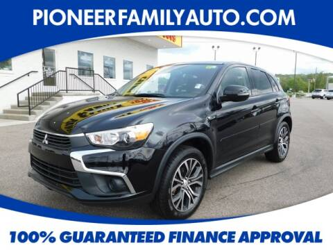 2016 Mitsubishi Outlander Sport for sale at Pioneer Family Preowned Autos in Williamstown WV