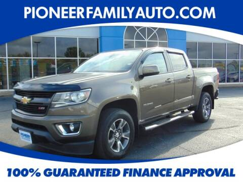 2017 Chevrolet Colorado for sale at Pioneer Family Preowned Autos in Williamstown WV