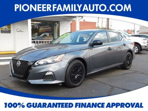 2019 Nissan Altima for sale at Pioneer Family Preowned Autos in Williamstown WV