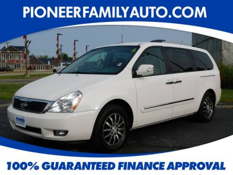 2011 Kia Sedona for sale at Pioneer Family Preowned Autos in Williamstown WV