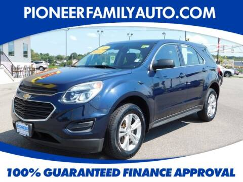 2016 Chevrolet Equinox for sale at Pioneer Family Preowned Autos in Williamstown WV