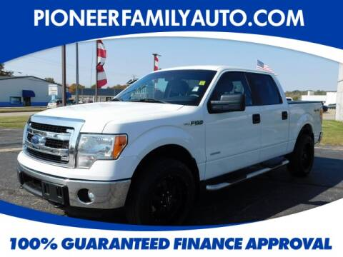 2014 Ford F-150 for sale at Pioneer Family Preowned Autos in Williamstown WV