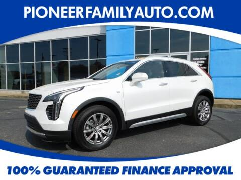 2020 Cadillac XT4 for sale at Pioneer Family Preowned Autos in Williamstown WV
