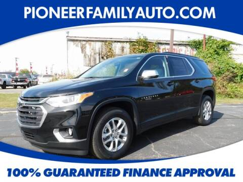 2020 Chevrolet Traverse for sale at Pioneer Family Preowned Autos in Williamstown WV