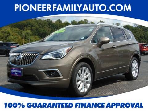 2016 Buick Envision for sale at Pioneer Family Preowned Autos in Williamstown WV