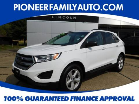 2017 Ford Edge for sale at Pioneer Family Preowned Autos in Williamstown WV