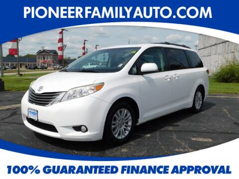 2012 Toyota Sienna for sale at Pioneer Family Preowned Autos in Williamstown WV