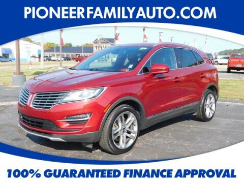 2015 Lincoln MKC for sale at Pioneer Family Preowned Autos in Williamstown WV