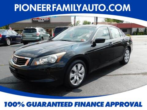2010 Honda Accord for sale at Pioneer Family Preowned Autos in Williamstown WV