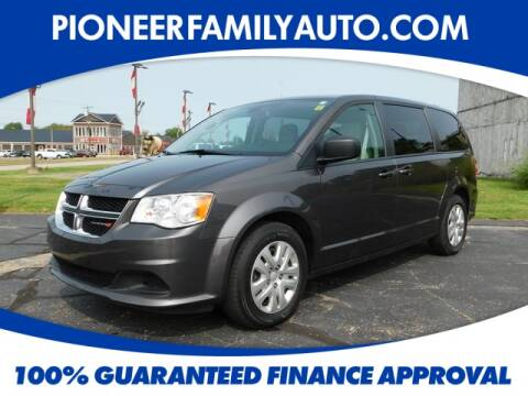 2018 Dodge Grand Caravan for sale at Pioneer Family Preowned Autos in Williamstown WV