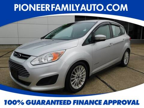2013 Ford C-MAX Hybrid for sale at Pioneer Family Preowned Autos in Williamstown WV