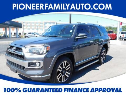 2015 Toyota 4Runner for sale at Pioneer Family Preowned Autos in Williamstown WV