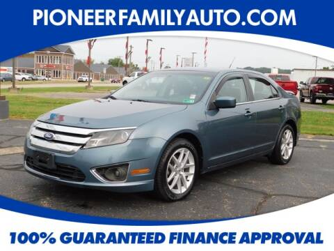 2012 Ford Fusion for sale at Pioneer Family Preowned Autos in Williamstown WV