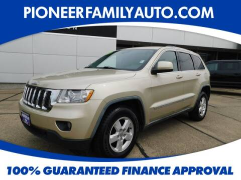 2011 Jeep Grand Cherokee for sale at Pioneer Family Preowned Autos in Williamstown WV