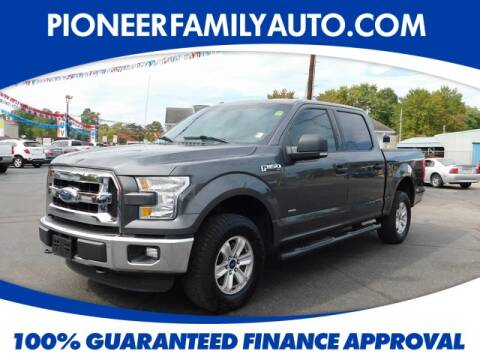 2016 Ford F-150 for sale at Pioneer Family Preowned Autos in Williamstown WV
