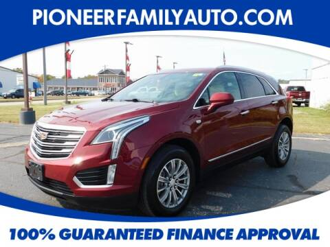 2017 Cadillac XT5 for sale at Pioneer Family Preowned Autos in Williamstown WV