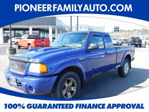 2003 Ford Ranger for sale at Pioneer Family Preowned Autos in Williamstown WV