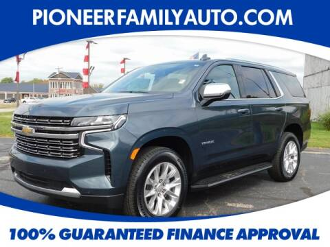 2021 Chevrolet Tahoe for sale at Pioneer Family Preowned Autos in Williamstown WV