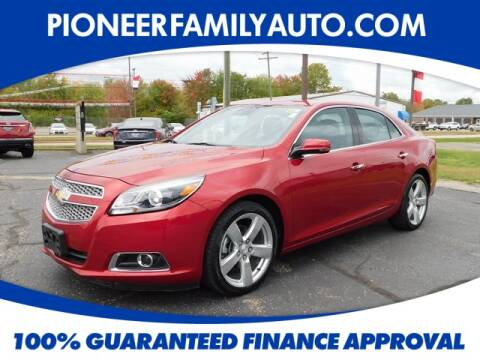 2013 Chevrolet Malibu for sale at Pioneer Family Preowned Autos in Williamstown WV