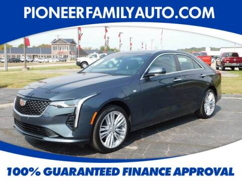 2020 Cadillac CT4 for sale at Pioneer Family Preowned Autos in Williamstown WV