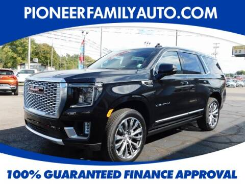 2021 GMC Yukon for sale at Pioneer Family Preowned Autos in Williamstown WV