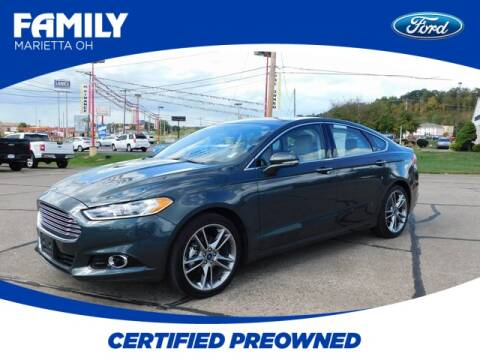 2016 Ford Fusion for sale at Pioneer Family Preowned Autos in Williamstown WV