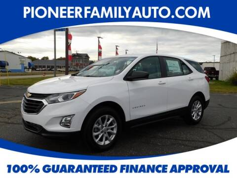 2020 Chevrolet Equinox for sale at Pioneer Family Preowned Autos in Williamstown WV