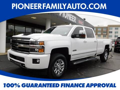 2019 Chevrolet Silverado 3500HD for sale at Pioneer Family Preowned Autos in Williamstown WV