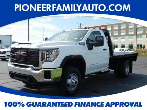2020 GMC Sierra 3500HD CC for sale at Pioneer Family Preowned Autos in Williamstown WV