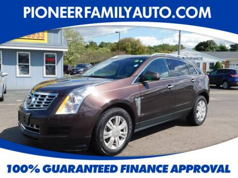 2016 Cadillac SRX for sale at Pioneer Family Preowned Autos in Williamstown WV