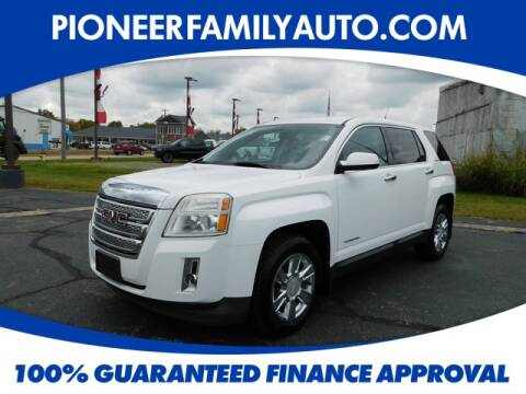 2011 GMC Terrain for sale at Pioneer Family Preowned Autos in Williamstown WV