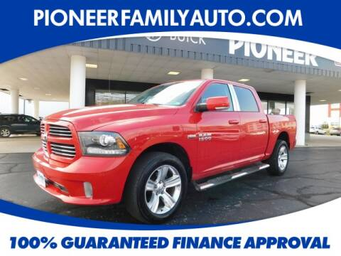 2013 RAM Ram Pickup 1500 for sale at Pioneer Family Preowned Autos in Williamstown WV
