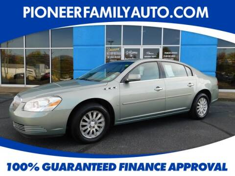 2007 Buick Lucerne for sale at Pioneer Family Preowned Autos in Williamstown WV