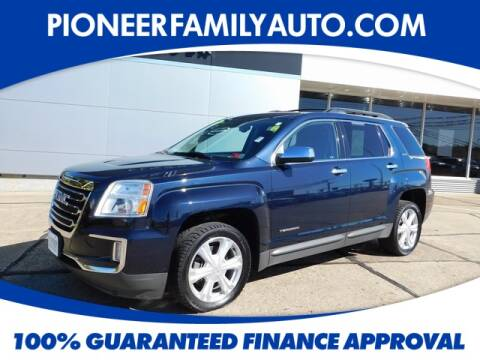 2017 GMC Terrain for sale at Pioneer Family Preowned Autos in Williamstown WV