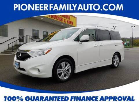2013 Nissan Quest for sale at Pioneer Family Preowned Autos in Williamstown WV