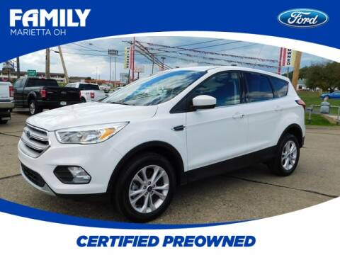 2019 Ford Escape for sale at Pioneer Family Preowned Autos in Williamstown WV