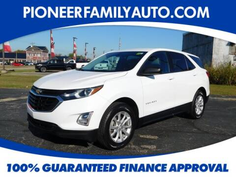 2018 Chevrolet Equinox for sale at Pioneer Family Preowned Autos in Williamstown WV
