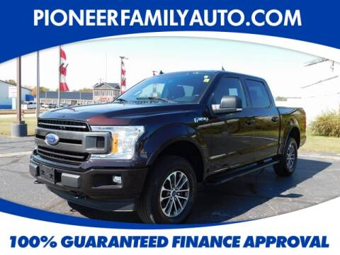 2018 Ford F-150 for sale at Pioneer Family Preowned Autos in Williamstown WV