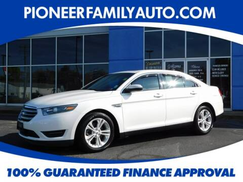 2015 Ford Taurus for sale at Pioneer Family Preowned Autos in Williamstown WV