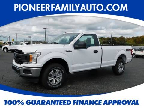 2020 Ford F-150 for sale at Pioneer Family Preowned Autos in Williamstown WV