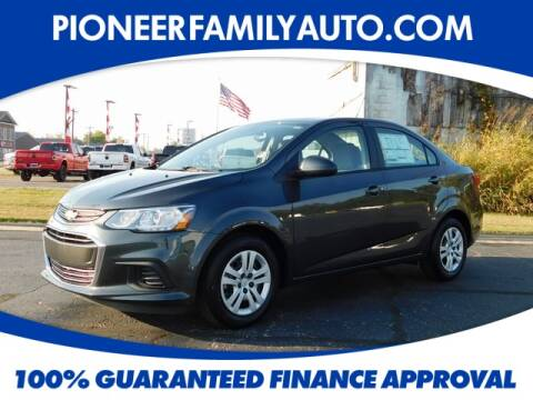 2020 Chevrolet Sonic for sale at Pioneer Family Preowned Autos in Williamstown WV