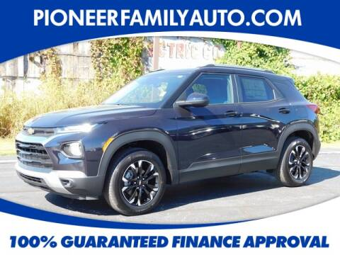 2021 Chevrolet TrailBlazer for sale at Pioneer Family Preowned Autos in Williamstown WV
