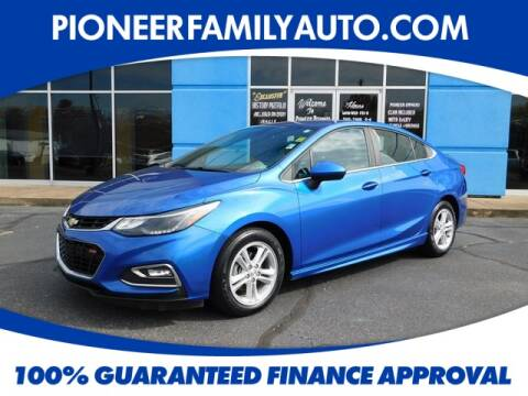 2016 Chevrolet Cruze for sale at Pioneer Family Preowned Autos in Williamstown WV