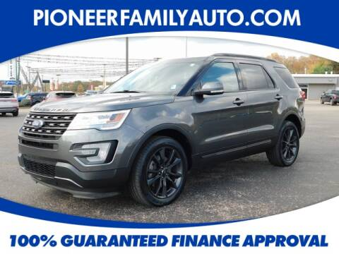 2017 Ford Explorer for sale at Pioneer Family Preowned Autos in Williamstown WV