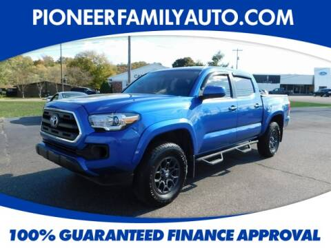 2017 Toyota Tacoma for sale at Pioneer Family Preowned Autos in Williamstown WV