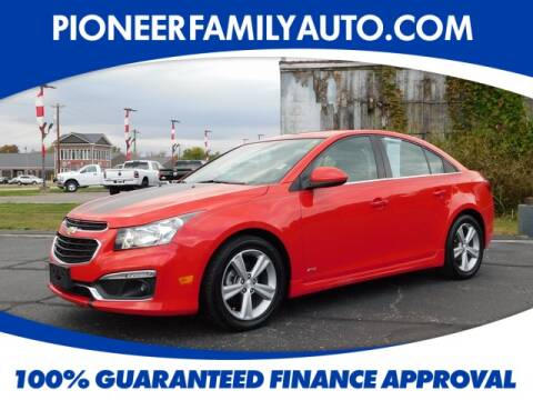 2015 Chevrolet Cruze for sale at Pioneer Family Preowned Autos in Williamstown WV