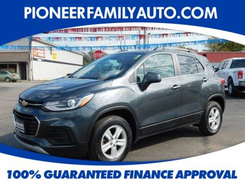 2017 Chevrolet Trax for sale at Pioneer Family Preowned Autos in Williamstown WV